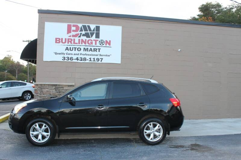 2009 Nissan Rogue for sale at Burlington Auto Mart in Burlington NC