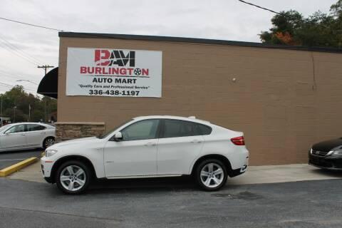 2013 BMW X6 for sale at Burlington Auto Mart in Burlington NC