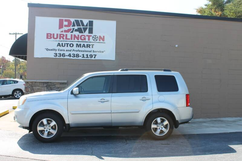 2011 Honda Pilot for sale at Burlington Auto Mart in Burlington NC