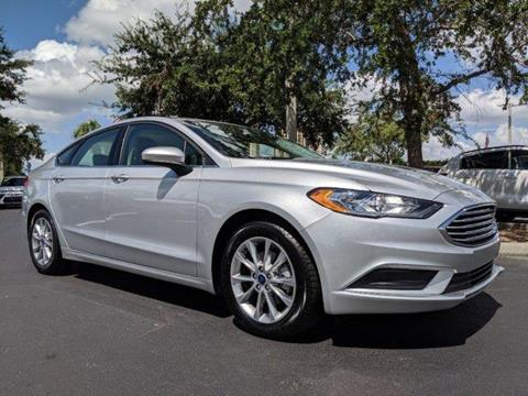 2017 Ford Fusion for sale in Fort Myers, FL