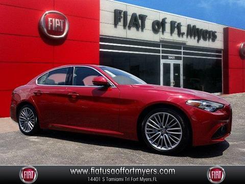 2018 Alfa Romeo Giulia for sale in Fort Myers, FL