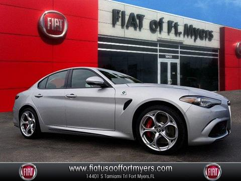 2019 Alfa Romeo Giulia Quadrifoglio for sale in Fort Myers, FL