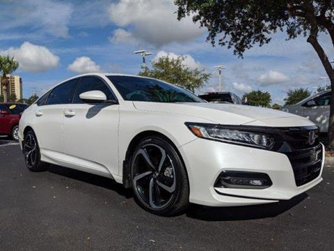 Honda Of Fort Myers >> 2018 Honda Accord For Sale In Fort Myers Fl