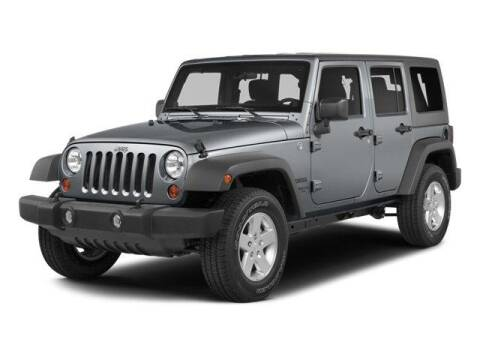 2014 Jeep Wrangler Unlimited for sale at Galeana Chrysler Dodge Jeep Ram Fiat in Fort Myers FL