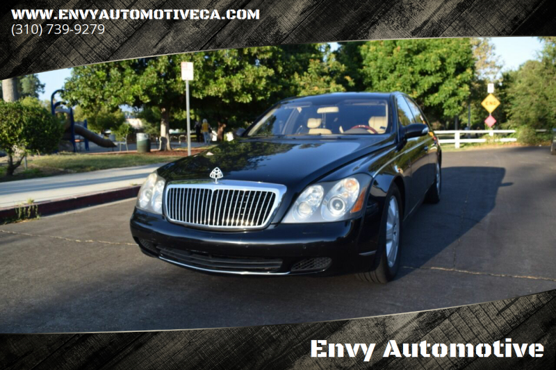 2004 Maybach 57 for sale at Envy Automotive in Studio City CA