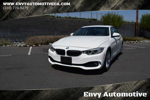 2014 BMW 4 Series for sale at Envy Automotive in Studio City CA