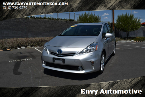 2014 Toyota Prius v for sale at Envy Automotive in Studio City CA