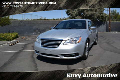 2012 Chrysler 200 for sale at Envy Automotive in Studio City CA