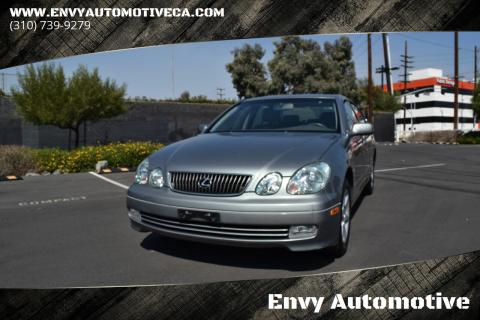 2004 Lexus GS 300 for sale at Envy Automotive in Studio City CA