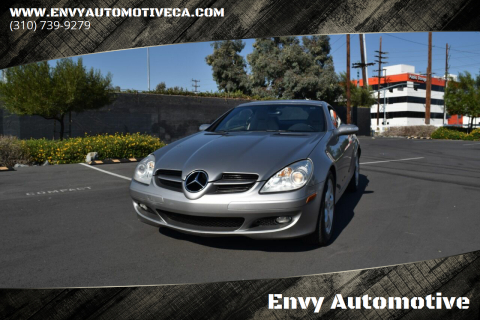 2006 Mercedes-Benz SLK for sale at Envy Automotive in Studio City CA