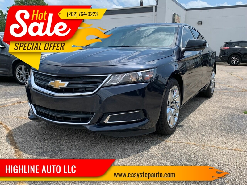 2014 Chevrolet Impala for sale at HIGHLINE AUTO LLC in Kenosha WI