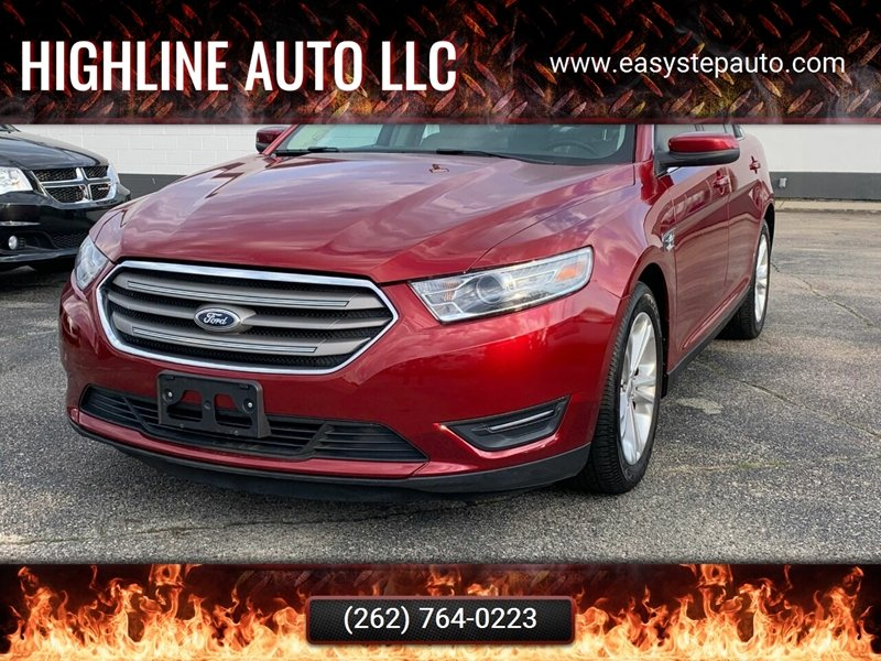 2013 Ford Taurus for sale at HIGHLINE AUTO LLC in Kenosha WI
