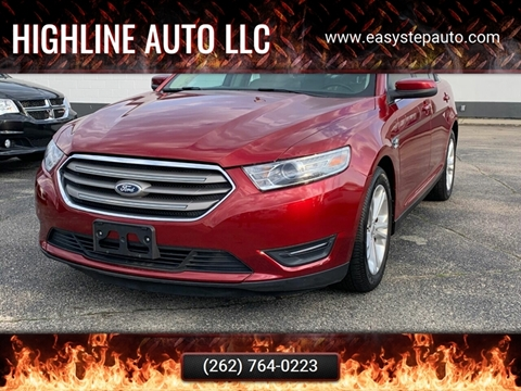 2013 Ford Taurus for sale at HIGHLINE AUTO LLC in Kenosha WI