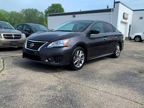 2013 Nissan Sentra for sale at HIGHLINE AUTO LLC in Kenosha WI