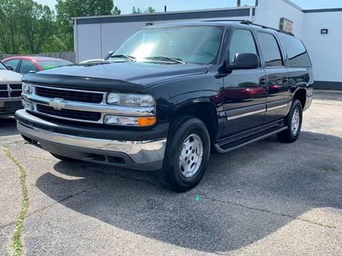 2004 Chevrolet Suburban for sale at HIGHLINE AUTO LLC in Kenosha WI