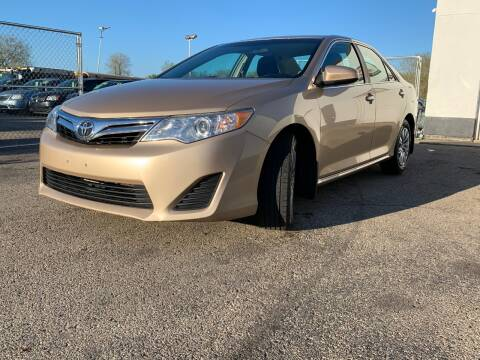 2012 Toyota Camry for sale at HIGHLINE AUTO LLC in Kenosha WI