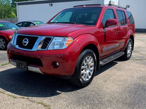 2008 Nissan Pathfinder for sale at HIGHLINE AUTO LLC in Kenosha WI