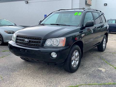 2003 Toyota Highlander for sale at HIGHLINE AUTO LLC in Kenosha WI