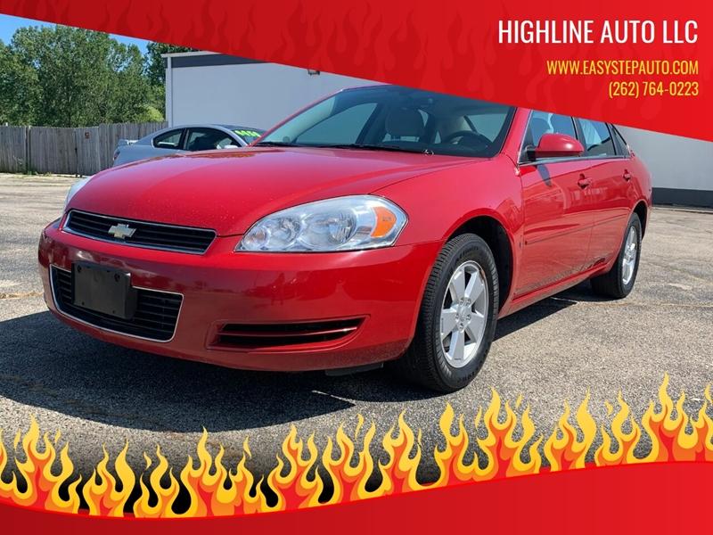 2008 Chevrolet Impala for sale at HIGHLINE AUTO LLC in Kenosha WI