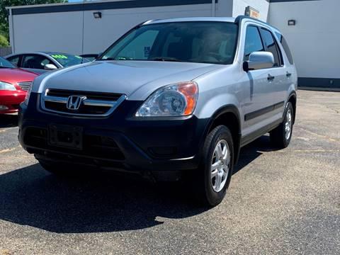 2002 Honda CR-V for sale at HIGHLINE AUTO LLC in Kenosha WI
