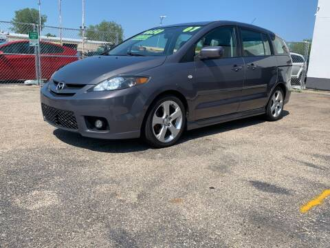 2007 Mazda MAZDA5 for sale at HIGHLINE AUTO LLC in Kenosha WI