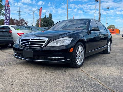 2010 Mercedes-Benz S-Class for sale at HIGHLINE AUTO LLC in Kenosha WI
