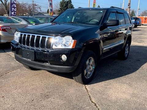 2007 Jeep Grand Cherokee for sale at HIGHLINE AUTO LLC in Kenosha WI