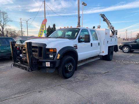 2009 Ford F-550 Super Duty for sale at HIGHLINE AUTO LLC in Kenosha WI
