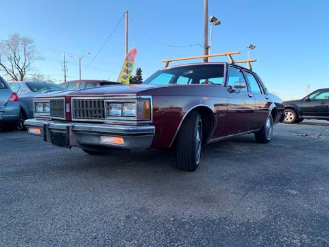 1981 Oldsmobile Delta Eighty-Eight Royale for sale at HIGHLINE AUTO LLC in Kenosha WI