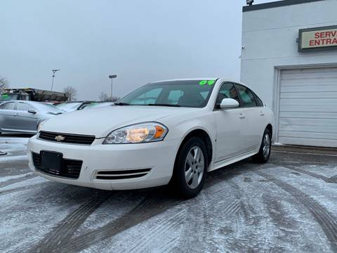 2009 Chevrolet Impala for sale at HIGHLINE AUTO LLC in Kenosha WI