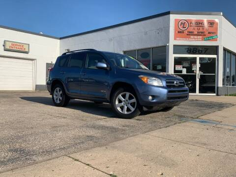 2008 Toyota RAV4 for sale at HIGHLINE AUTO LLC in Kenosha WI