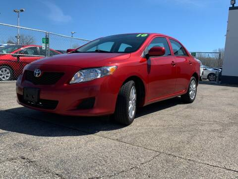 2010 Toyota Corolla LE for sale at HIGHLINE AUTO LLC in Kenosha WI
