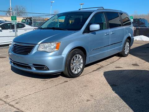 2013 Chrysler Town and Country Touring for sale at HIGHLINE AUTO LLC in Kenosha WI