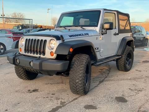 2009 Jeep Wrangler for sale at HIGHLINE AUTO LLC in Kenosha WI