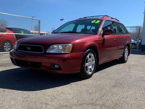 2003 Subaru Legacy for sale at HIGHLINE AUTO LLC in Kenosha WI