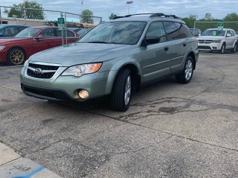 2009 Subaru Outback for sale at HIGHLINE AUTO LLC in Kenosha WI