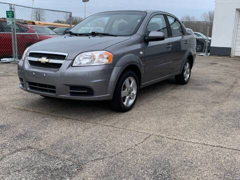 2008 Chevrolet Aveo for sale at HIGHLINE AUTO LLC in Kenosha WI