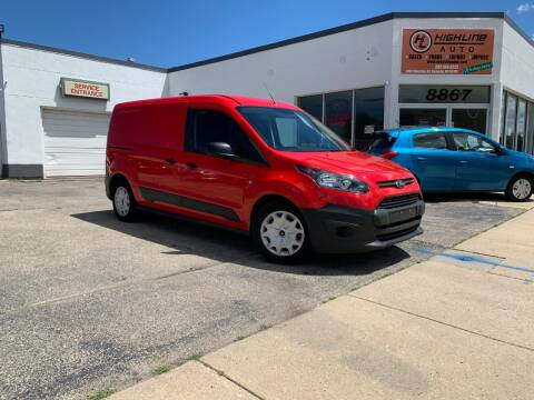 2018 Ford Transit Connect Cargo for sale at HIGHLINE AUTO LLC in Kenosha WI