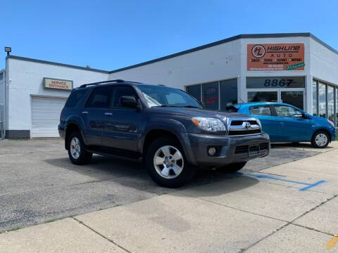 2007 Toyota 4Runner for sale at HIGHLINE AUTO LLC in Kenosha WI