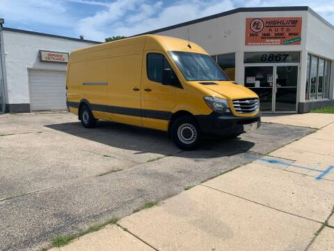 2014 Freightliner Sprinter Cargo for sale at HIGHLINE AUTO LLC in Kenosha WI