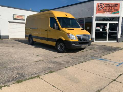 2013 Freightliner Sprinter Cargo for sale at HIGHLINE AUTO LLC in Kenosha WI