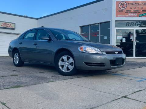 2006 Chevrolet Impala for sale at HIGHLINE AUTO LLC in Kenosha WI