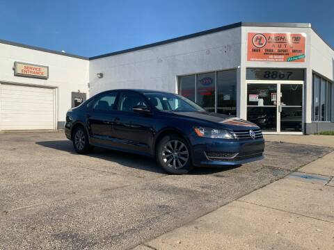 2014 Volkswagen Passat for sale at HIGHLINE AUTO LLC in Kenosha WI