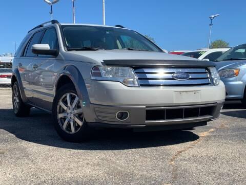 2008 Ford Taurus X for sale at HIGHLINE AUTO LLC in Kenosha WI
