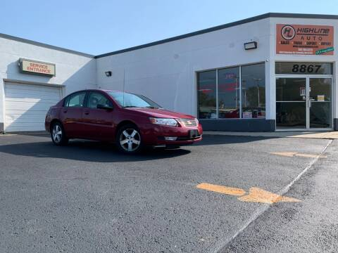 2007 Saturn Ion for sale at HIGHLINE AUTO LLC in Kenosha WI