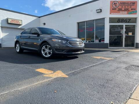 2015 Ford Taurus for sale at HIGHLINE AUTO LLC in Kenosha WI