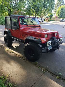 1994 Jeep Wrangler for sale in Portland, OR