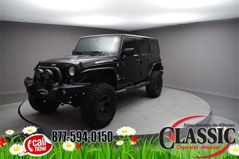 2015 Jeep Wrangler Unlimited for sale in Houston, TX