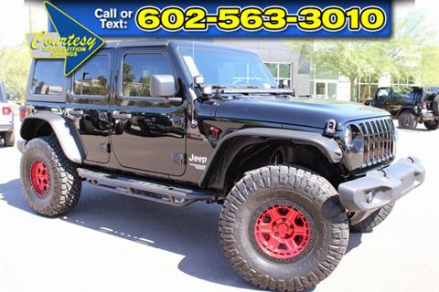 2019 Jeep Wrangler Unlimited for sale in Mesa, AZ