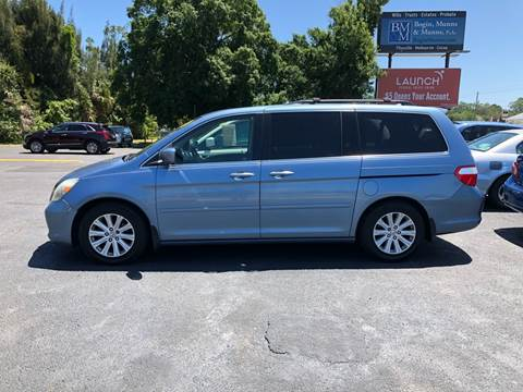2005 Honda Odyssey For Sale >> Honda Odyssey For Sale In West Melbourne Fl Palm Auto Sales